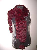 Меховой шарф