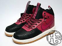 Мужские кроссовки реплика Nike Lunar Force 1 Duckboot Red/Black/White 805899-002, фото 2