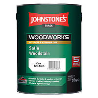 Цветной антисептик Johnstones Satin Woodstain 0.75л, Эбеновое дерево