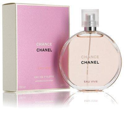 Chanel Chance Eau Vive туалетная вода оригинал 100 мл NNR ORGIN/02-39