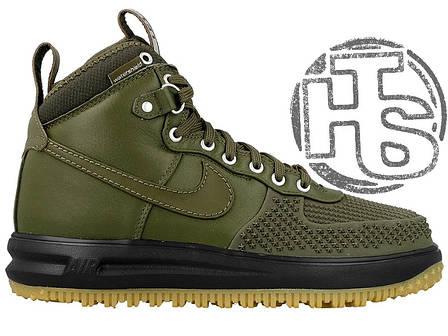 Мужские кроссовки реплика Nike Lunar Force 1 Duckboot Green 805899-008, фото 2
