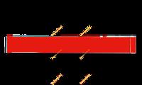Теплий електричний плінтус UDEN-200 Classic, фото 1
