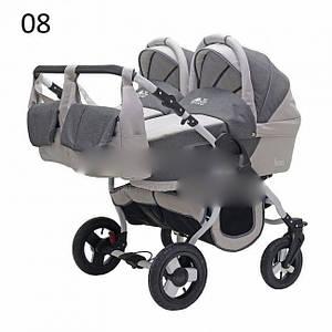 Детская коляска 2 в 1 Teddy Bart Plast Fenix DUO