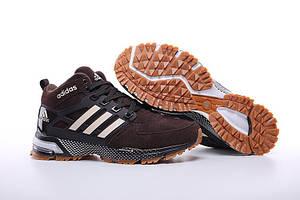 Зимние кроссовки Adidas Marathon Chocolate