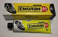 Крем для обуви Эмолан 80мл (чёрный)