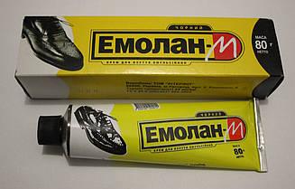 Крем для взуття Эмолан 80мл (чорний)