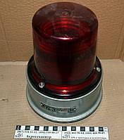 Маяк проблесковый красный 12В СИМ 3-1