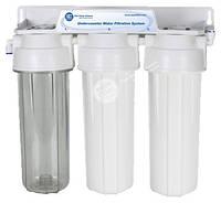 Система очистки воды под кухонную мойку FP3-2 Aquafilter, фото 1