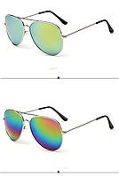 Очки солнцезащитные авиаторы 3025 с градиентом