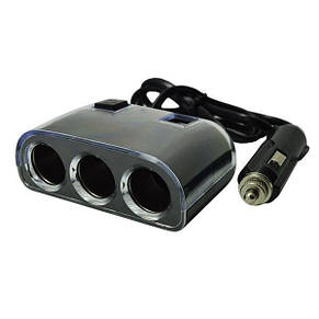 Разветвитель прикуривателя Olesson (IN-CAR) 1505 12V-24V+2 USB, фото 2