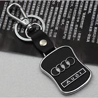 Брелок Audi Ауди кожаный с логотипом