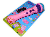 Микрофон детский караоке Свинка Пеппа Peppa Pig