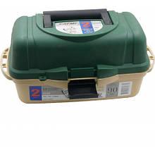Коробка 2х-секционная CAYME 2702