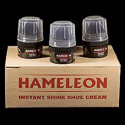 Крем для взуття Hameleon 60 мл (чорний)