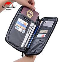 Органайзер дорожный, сумка для документов Naturehike Travel document package NH17C001-B, фото 3