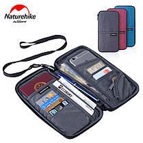 Органайзер дорожный, сумка для документов Naturehike Travel document package NH17C001-B, фото 2
