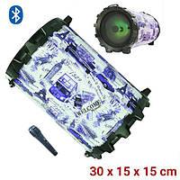 KTS-856 Беспроводной Бумбокс Bluetooth цилиндрическая колонка