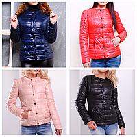Женская куртка короткая на осень
