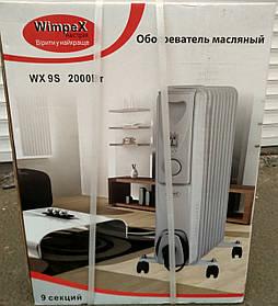 Обогреватель масляный напольный WimpeX WX-9S 2000W (9 секций)