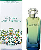 Hermes Un Jardin Apres la Mousson edt lady 100ml. Тестер Оригинал