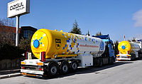 Аренда автоцистерны OZGUL GAS TANKER SEMI TRAILER