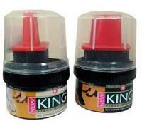 Крем для обуви Кинг KING (чёрный) 60мл.