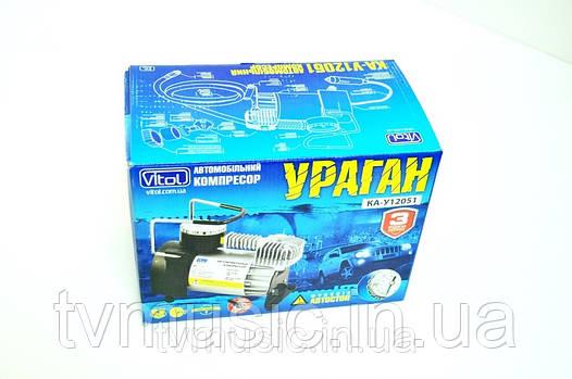 Автомобильный компрессор Vitol КА-У12051 Ураган