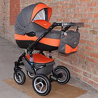 Детская коляска Riko Brano 2 в 1 6      Orange
