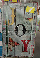 """Гардероб тканевый """"JOY"""" с карманами 1560 х 870 х 460 мм зеленый, производство Китай"""