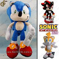 """Набор плюшевых игрушек Соник - """"Sonic Pack """" - 3 в 1, фото 1"""