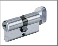 Цилиндр дверной ABUS D6 ключ-тумблер никель
