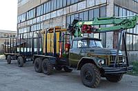 Обладнання для перевезення лісу