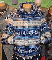 Женская зимняя куртка Буковель, синтепух, 4 размера, снежинки