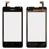 Сенсор (тачскрин) для Huawei Y300 U8833 Ascend/Y300D черный