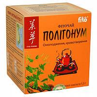 Полигонум фиточай fito, фильтр-пакеты №20-омолаживает организм, улучшает кроветворение, улучшает рост волос,