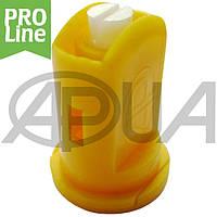 Распылитель форсунки керамический инжекторный компактный 110 желтый Agroplast   6MS02C AGROPLAST, фото 1