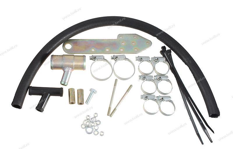 Комплект монтажный КМП-0506 для электроподогревателя Северс (Ford S-Max 2008 г.в., с дв. SEWA (2,3 л), АКПП)