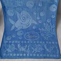 """Полотенце. Метровое полотенце из микрофибры """"Дельфин"""". Полотенце для лица"""