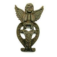 Дверная ручка колотушка Ангел