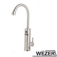 Проточный водонагреватель WEZER SDR-18D-3H (НЕРЖАВЕЙКА)