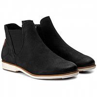 Шикарные кожаные ботинки-челси Tamaris,Оригинал