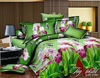 Комплект постельного белья ТМ TAG Евро, постельное белье Евро XHY1334