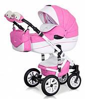 Детская коляска Riko BRANO Ecco 2 в 1 18 Baby Pink, фото 1