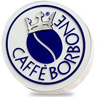 Односторонняя рекламная вывеска с подсветкой Caffe BORBONE, 50*42 см