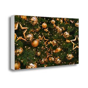 Настенная картина на холсте с принтом Новогодняя ёлка