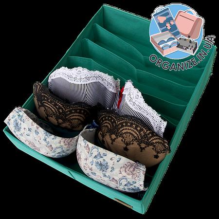 Коробка для маек и футболок ORGANIZE (Лазурь)