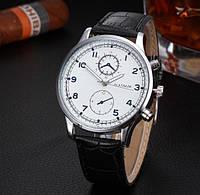 Часы мужские наручные с белым циферблатом (ч-12)