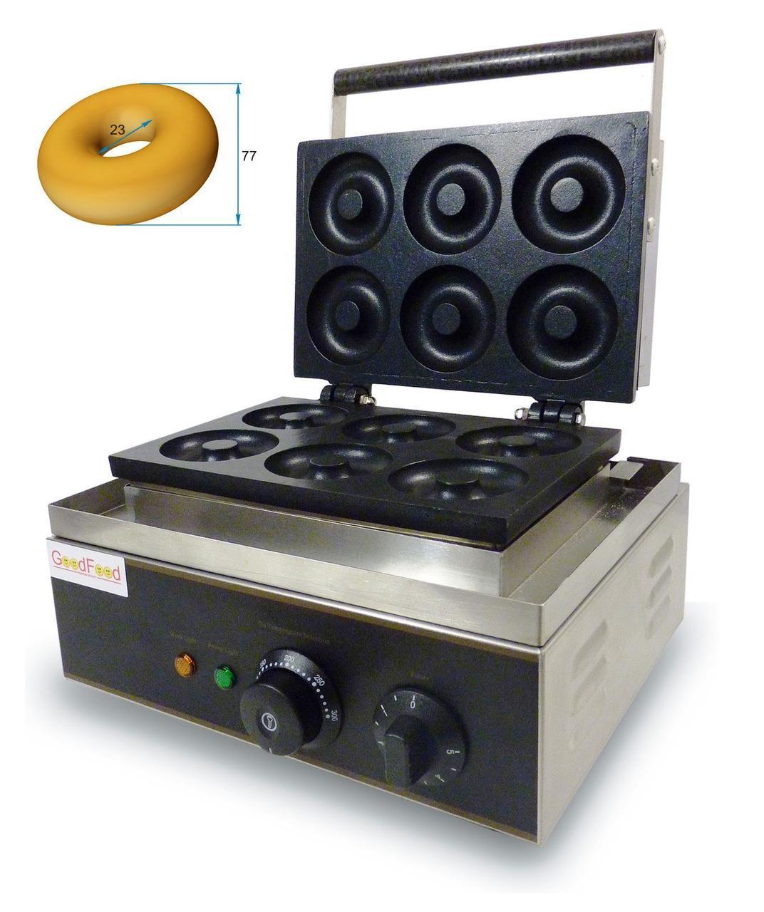 Гриль  для донатсов (американских пончиков) GoodFood DM6