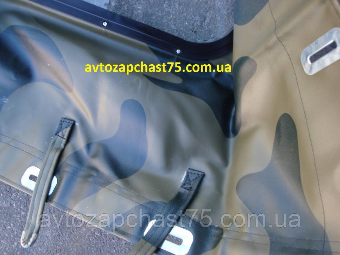Тент Уаз  469, Уаз 31512 (люкс, прорезиненная ткань) камуфлированный (производство Ульяновск, Россия)