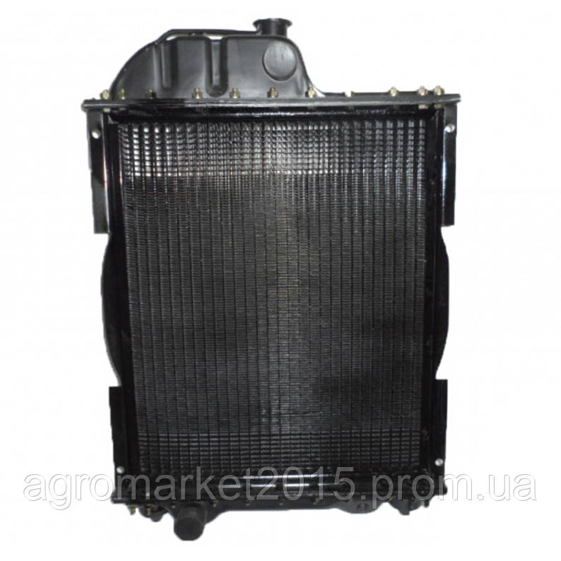 Радиатор МТЗ 70У-1301010 (4-х ряд) алюминий с мет. бачками